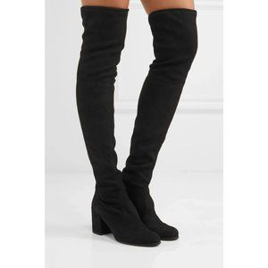 Stuart Weitzman Suede Over The Knee Darla Boots